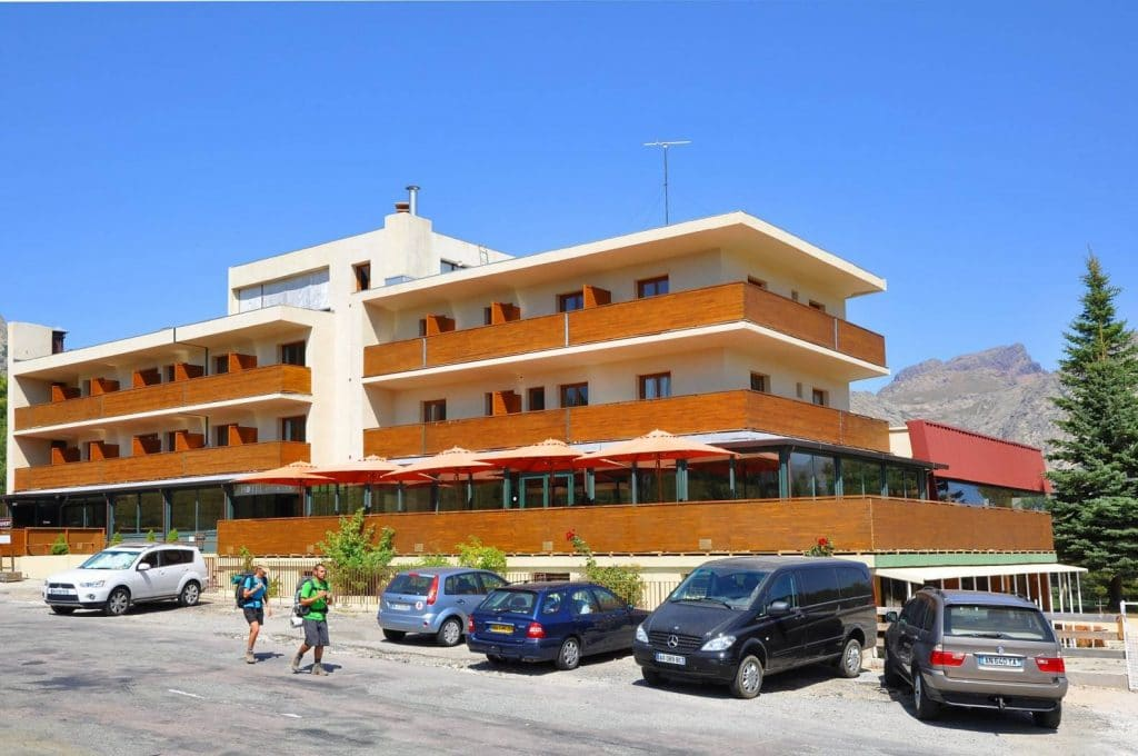 L'hôtel castel de Vergio