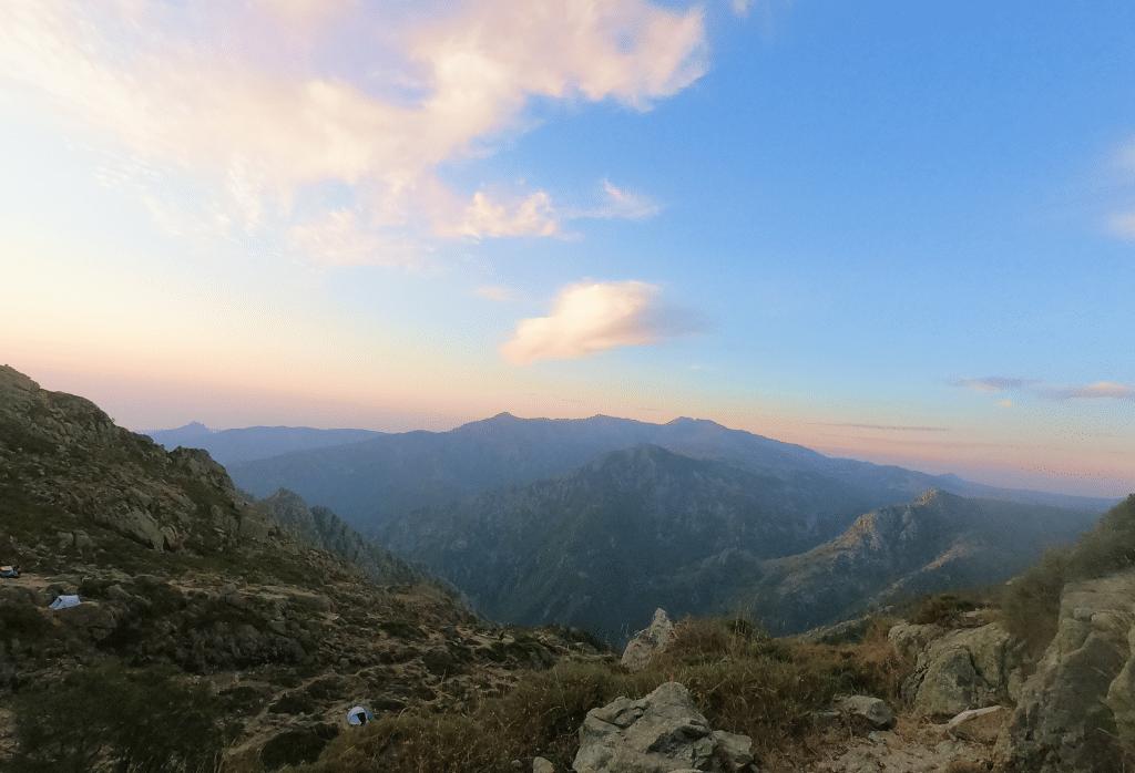 Un matin sur les hauteurs du refuge d'usciolu