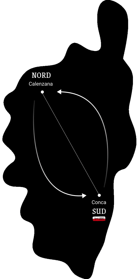 GR20 Nord Sud montagne Corse