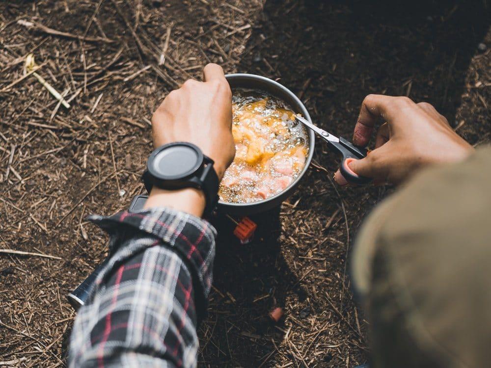Cuisiner avec son réchaud sur le GR20