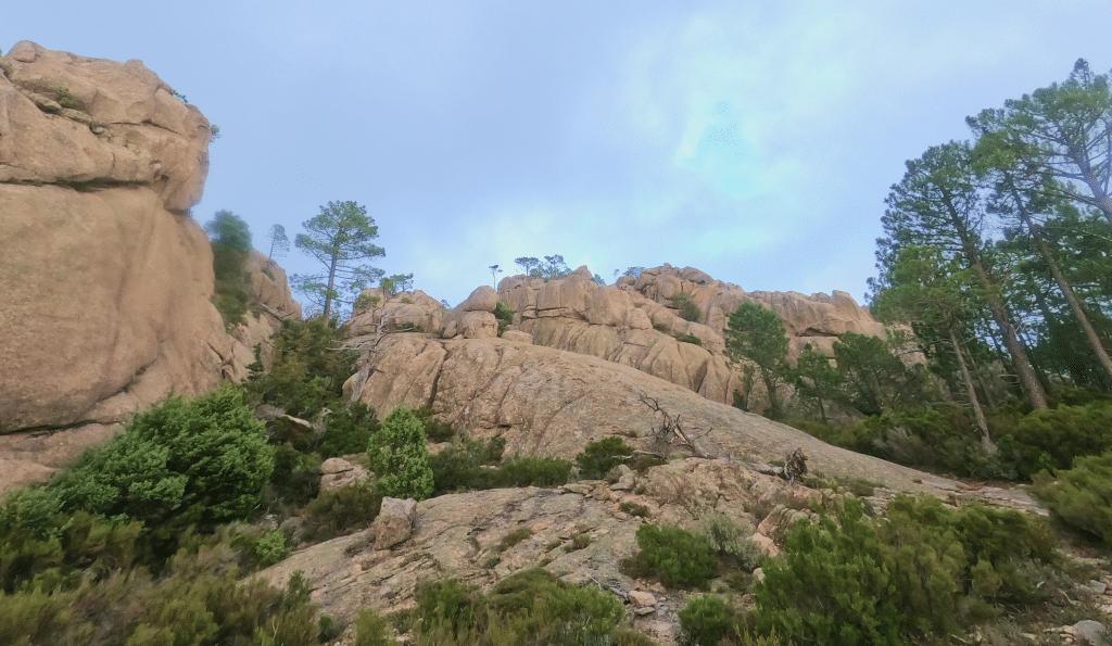 roche montagne corse GR20 sud